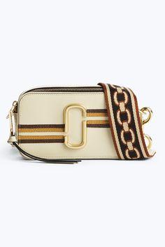 MARC JACOBS Stripe Snapshot Small Camera Bag. #marcjacobs #bags # #