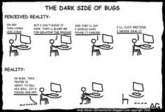 Cartoon Tester: The Dark Side of Bugs