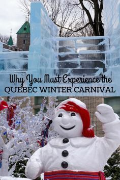 Why You Must Experience the Quebec Winter Carnival - Quebec City, Canada Quebec Winter Carnival, Canada National Parks, Canadian Travel, Festivals Around The World, Winter Festival, Worldwide Travel, Quebec City, Winter Travel, Travel Destinations