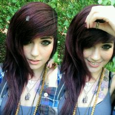 Love her hair!  Leda is so beautiful.        Leda Muir. (Ledamonsterbunny).