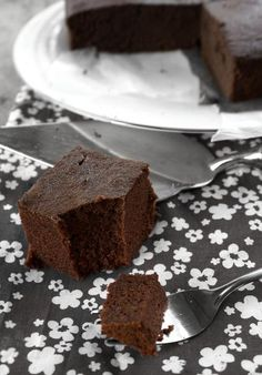Dinners & Dreams » Buckwheat Chocolate Cake (Gluten-Free)