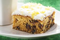 Feijoa date cake recipe, NZ Herald – Ice with a nice lemon icing and a bit of lemon zest to garnish. – foodhub.co.nz