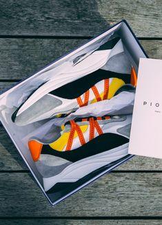 Baskets Piola Ica orange grise et marron #chaussures #baskets #sneakers #piolaica #orange #gris #marron #shoes #grey #brown Orange Gris, Baskets Nike, Nike Cortez, Sneakers Nike, Shoes, Conkers, Nike Tennis, Zapatos, Shoes Outlet