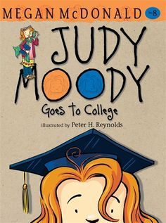 Judy Moody is in a mood: the substitute teacher in Class 3T thinks Judy's math skills need improving. So Judy has to start meeting with a math tutor -- a sick-awesome college student with an uber-funky sense of style. Once Judy gets a glimpse of college life, her bad math-i-tude turns into a radical glad-i-tude. Time to say good-bye to Judy Moody, old school third-grader, and say hello to Miss College! HC 9780763648565 / PB 9780763648558 / ebook 9780763652074 / Ages 6-9 yrs / GRL M