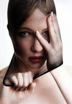 Cate Blanchett by Patrick Demarchelier
