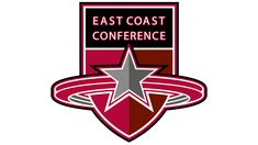 While the East Coast Conference logo does not feature the colors of the Flag of the United States, it definitely has a noble patriotic feel. Conference Logo, Hockey Logos, East Coast, Evolution, Meant To Be, History, Historia