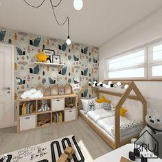 Pokój dziecka - styl Skandynawski 2021 Boy Toddler Bedroom, Baby Boy Room Decor, Toddler Rooms, Baby Bedroom, Baby Boy Rooms, Cool Kids Bedrooms, Kids Bedroom Designs, Baby Room Design, Baby Kind