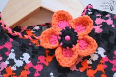No-Weaving-in-Ends Crochet Flower Headband, free pattern. ✿Teresa Restegui http://www.pinterest.com/teretegui/✿