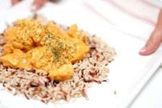 Receta típica del Sureste Asiático. El Tikka Masala, una mezcla de especias con pollo, da como resultado un plato sabroso. Ya lo puedes hacer en Thermomix.