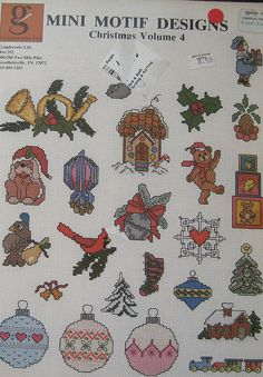 Mini Motif Designs for Christmas Volume 4 Cross by TheHowlingHag, $8.95