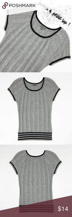 Joseph A. Petite Top Size M This Top is New without Tags, Size M ( petite ) the material is very strechy, have some little details  that you can see on the last picture, like a little stain on one of the sleeves, that maybe It can be removed by washing. Joseph Tops Sweatshirts & Hoodies