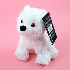 Game of Thrones Direwolf Baby Ghost Pup Plush Jon Snow's Wolf ...