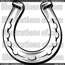 horseshoe clip art clipart of a black and white horseshoe 1 rh pinterest com horseshoe clip art no background horseshoe clip art cnc