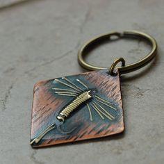 Fly Fishing Key Ring