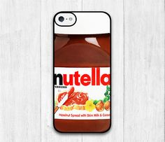 Nutella Bottle iPhone 5C case Lovely iphone 5C hard by iCaseBeauty