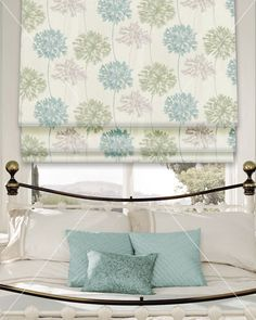 roman blinds with border - Google Search