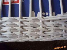 Pletení z papíru vzoreček: