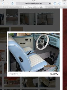 Seat idea colour scheme two tone