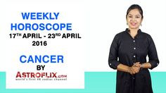 #Cancer - #Weekly #Horoscope for 17th to 23rd #April 2016 #astrology #Zodiac