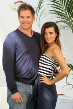 Michael Weatherly & Cote de Pablo