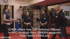 With the threat of 'Pussy Grabbing' on the rise, we sent Langan Kingsley to a self defense studio to see how she can best protect herself from Donald Trump and other potential pussy grabbers.