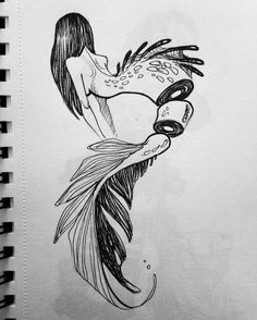 Mermaid for #inktober #inktober2go