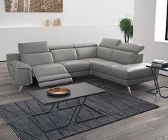 Canapé d'angle cuir Naxos