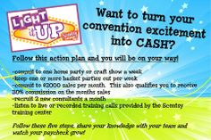 That's RIGHT!! Convention gives us the TOOLS to be successful!! #Ichoosescentsy Family Products, and its a WIN WIN! Loves&HUGS Denise