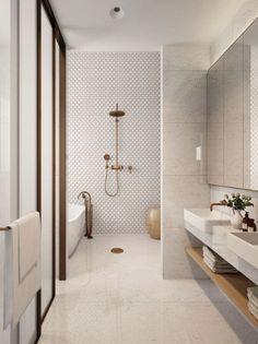 28 Best Minimalist Modern Bathroom Ideas #bathroom #bathroomdesign #homedecor #minimalisbathroom #viviehome