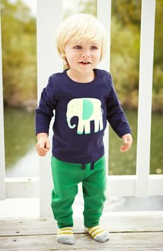 Mini Boden 'Essential' Cotton Jersey Pants (Baby Boys) | Nordstrom