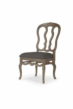 Bernhardt Furniture Belgian Oak Side Chair in Truffle Dining Room Furniture, Furniture Design, Bernhardt Furniture, European Furniture, Armless Chair, Scandinavian Interior, Side Chairs, Truffles, Charcoal
