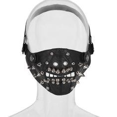 Punk- / Gothic- / Biker-Maske Crossbones
