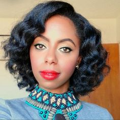 Effortless beach waves on 4c natural hair