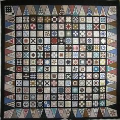 Dear Jane quilt by Betty on The Secret Life of Mrs. Meatloaf blog