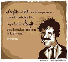 Laughter vs tears
