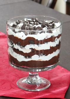 Oreo Trifle Recipe - Frugal Fanatic Tried this. So easy, super yummy! Definitely making this again:)
