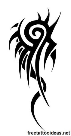 20 Trendy Ideas Tattoo Ideas For Guys Tribal Tatoo Tribal Wings, Tribal Art, Dragon Tattoo Designs, Tribal Tattoo Designs, Wolf Tattoos, Tatoos, Tattoo Sketches, Tattoo Drawings, Trendy Tattoos