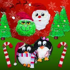 Piniaty świąteczne:)