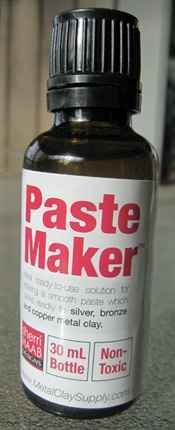 How to make silver metal clay oil paste