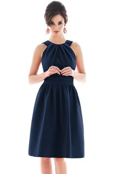 Shop Alfred Sung Bridesmaid Dress - D494 in Peau De Soie at Weddington Way. Find the perfect made-to-order bridesmaid dresses for your bridal party in your favorite color, style and fabric at Weddington Way.