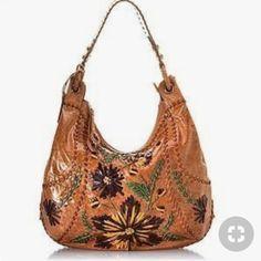 4b57f47f166e Isabella Fiore Handbags - Isabella Fiore Large Whipstitch Embroidered Hobo  Hobo Handtassen