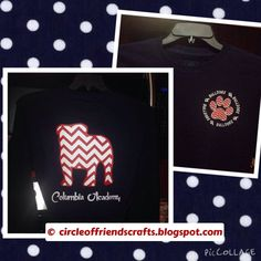 Photo on Circle of Friends Crafts: CA Chevron Bulldog Tshirt