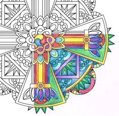 Mandala Coloring Page  Strength Vajra  coloring by CandyHippie