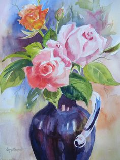 Joyce Kingman    WATERCOLOR