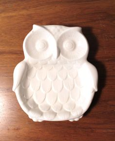 Vintage Ceramic Owl Dish by modfolk on Etsy, $14.00