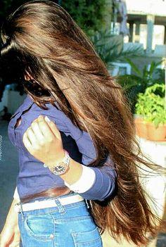 67 Ideas Hair Brown Dark Short Curls For 2019 Long Brown Hair, Very Long Hair, Long Indian Hair, Rapunzel Hair, Silky Hair, Beautiful Long Hair, Pretty Hairstyles, Her Hair, Hair Beauty