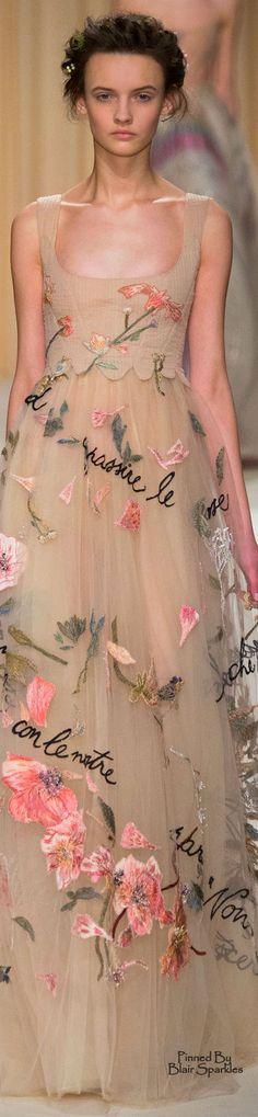 Spring 2015 Couture Valentino  ♕♚εїз | BLAIR SPARKLES