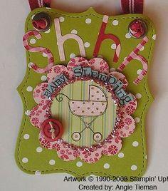 Cute door knob hanger