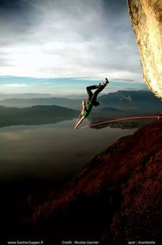 The big whipper... credit: Nicolas Garnier via Petzl