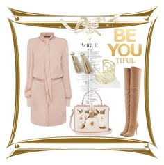"""""""Be You"""" by freida-adams ❤ liked on Polyvore featuring WALL, Alexander McQueen, Dolce&Gabbana, Balmain, jewlery, tassel and bellastreasure"""